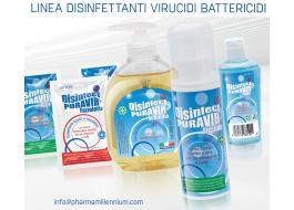 Бактерицидные противовирусный дезинфицирующее средство Disinfect Puravir PMC