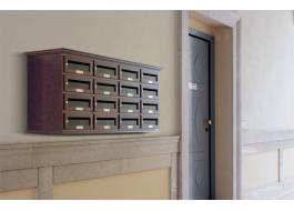 Cassette postali condominiali in legno Linea Classic