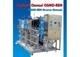 Impianti di osmosi per industria farmaceutica