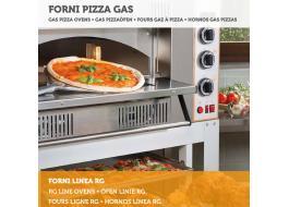 Профессиональный коксового газа для пиццы Line RG