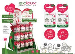 Orecchini anallergici e bracciali Biojoux