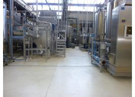 Resin floors for the food industry