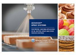 Sistemi di spruzzatura alimentare riscaldati AutoJet Accucoat®
