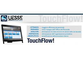 Software consuntivo per calcolo costo orario TouchFlow!