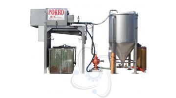 Filtropresse per depurazione acque