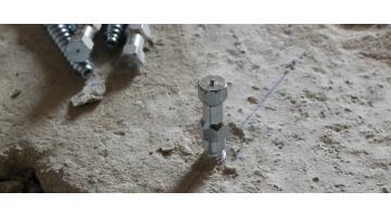 No resin dry connectors