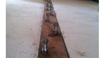 Dry connectors for floors