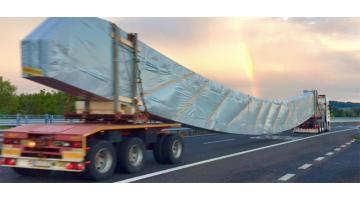 Exceptional timber transport service
