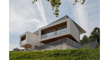 Design of wooden houses in Trentino