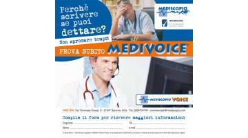 Inserimento vocale nella cartella sanitaria