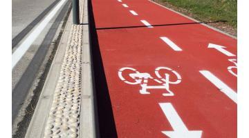 Asfalto stampato per piste ciclabili