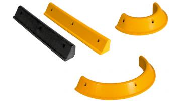 Cordoli aiuole e curve in PVC riciclato