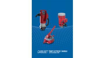 Pompe elettriche e manuali per fluidi Carbuset