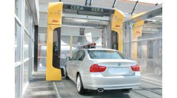 Portale lavaggio auto self service