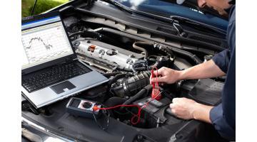 Tester motore auto
