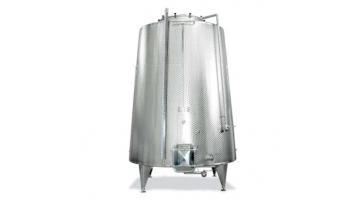 Fermentatore vino in acciaio inox