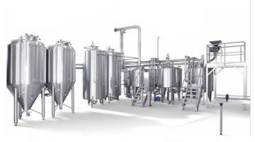 Impianto completo per birrifici