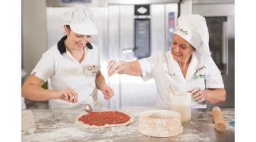 Производство вегетарианской пиццы без глютена