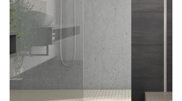 Profile box shower