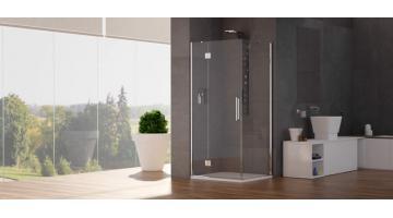 Box doccia angoli con porta