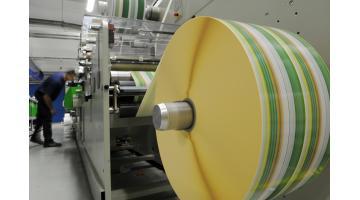Produzione etichette adesive in rotoli