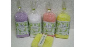 Produzione sali da bagno in sacchetti