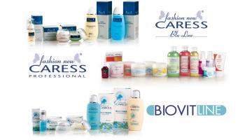 Professional cosmetic products for the face and body