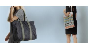 Production of customized fabric shopping bags