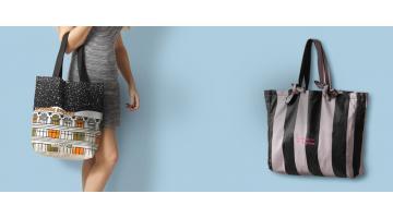 Fabric shopping bag production