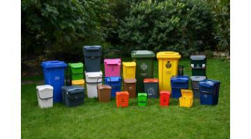 Contenitori per raccolta differenziata rifiuti