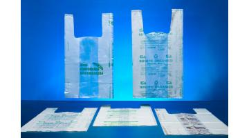 Sacchi per raccolta rifiuti compostabili
