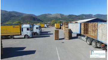 Commercio imballaggi in legno
