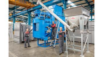 Produzione impianti di essiccazione rifiuti