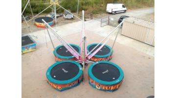 Baby bungee trampolino elastico per bambini