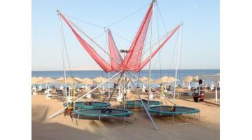 Produzione trampolini elastici per parchi gioco
