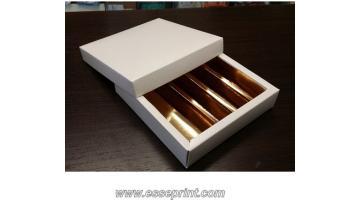 Confezioni in cartone per cioccolatini