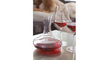Vendita decanter e calici vino