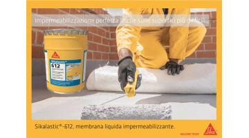 Membrana liquida impermeabilizzante per edilizia