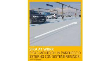 Pavimentazione esterna con sistemi resinosi