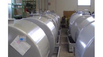 Produzione cisterne per carburante