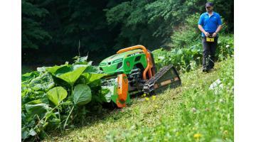 Радиоуправляемые тракторы для экологически чистого обслуживания