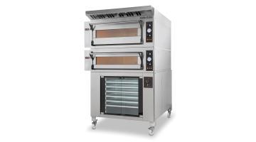 Manual electromechanical oven