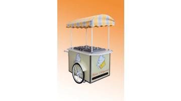 Carretto per vendita gelato