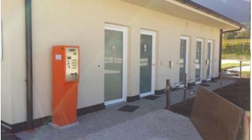 Cassa gestione accessi veloci area camper