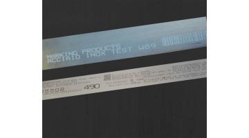 Stainless steel marking