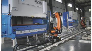 Celle robotizzate per piegatura lamiera