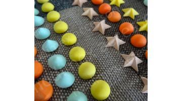 Резиновые заклепки для одежды и кожгалантереи