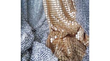 Металлические сетки для одежды и кожгалантереи
