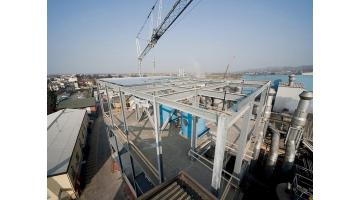 Production of prefabricated industrial structures