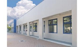 Production of prefabricated school structures